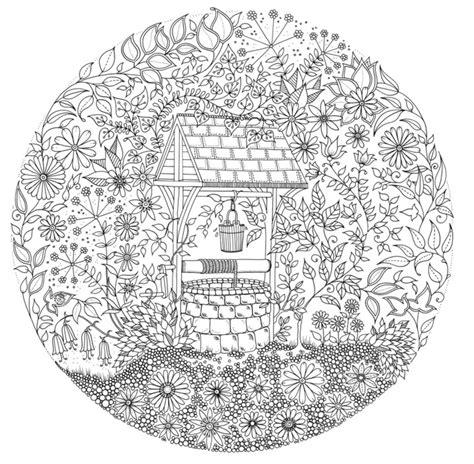 secret garden coloring pages download johanna basford