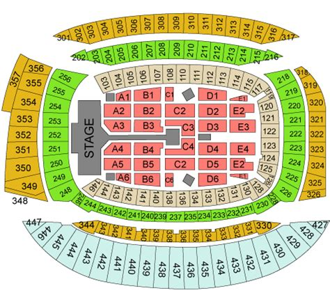 soldier field concert seating view soldier field concert seating chart