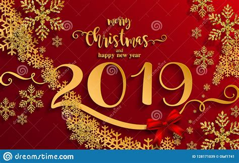 merry christmas   happy  year  stock vector illustration  january