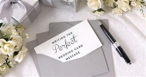 Writing the Perfect Wedding Card Message   The Gift