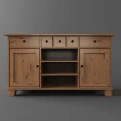 Buffet Sideboard Table Ikea Buffet 3d Model