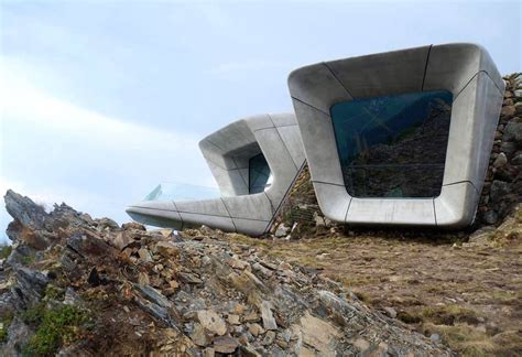 gallery of messner mountain museum corones zaha hadid zaha hadid s messner mountain museum tunnels through an