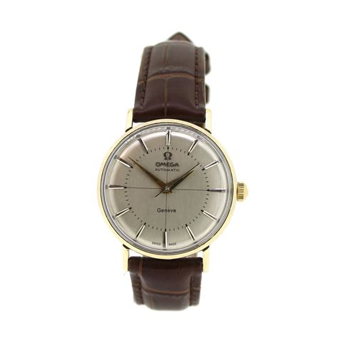 pre owned omega geneve ref ll6066 ramsdens