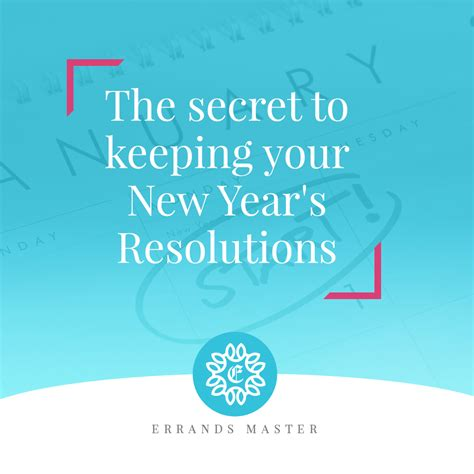 The Secret Keeping the secret to keeping your new year s resolutions