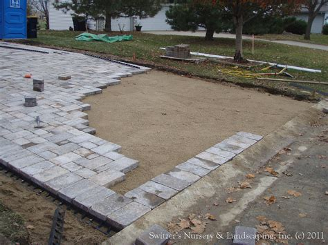 Concrete Pavers Patio Interlocking Concrete Paver Driveway Borgert Paving Stones Flickr