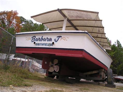 j boats wiki file deadrise workboat barbara j stern view on land jpg