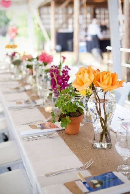 Picture Of Summer Wedding Table Decor Ideas Summer Table Centerpieces