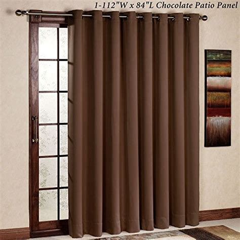 Insulated Patio Door Curtains Rhf Thermal Insulated Blackout Patio Door Curtain Panel Sliding Door Curtains Wide Curtains