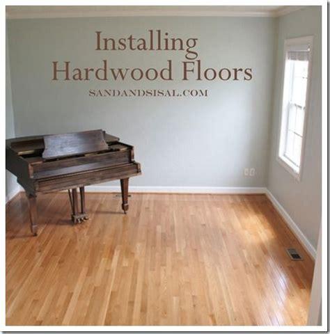 bruce hardwood floors installation best 25 installing hardwood floors ideas on