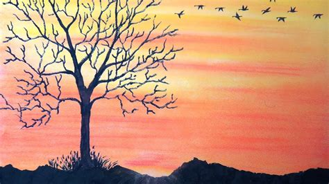 how to draw a sunset with colored pencils how to draw sunset with pastel return to home with