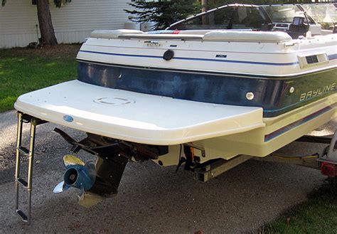 boat swim platform bayliner bayliner swim platform extension