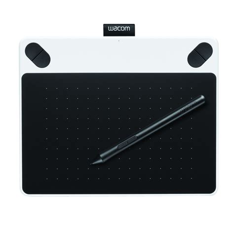 Wacom Intuos Draw Ctl490wo White wacom intuos draw pen small graphics portable tablet with