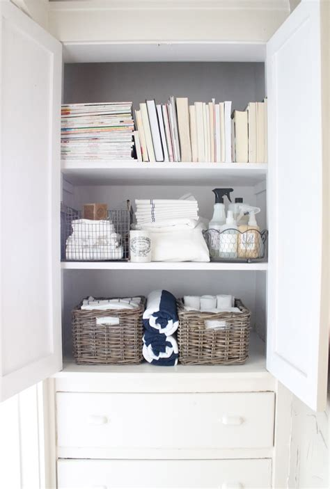 linen closet organization 12th and white the linen closet small space storage