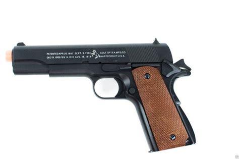 Airsoft Gun Colt 1911 Metal Airsoft Gun Heavy Weight Colt 1911 Replica Handgun