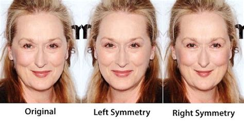 celebrity face meaning the three faces of meryl look for the woman