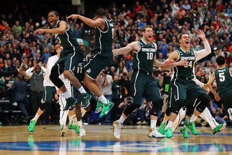 michigan state basketball michigan state beats louisville in overtime thriller