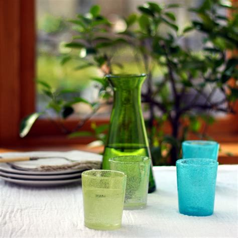 Handmade Glass Tumblers - handmade glass tumblers puddy