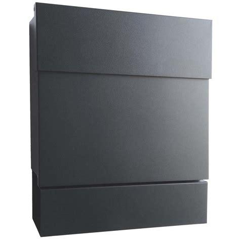 letterman 5 radius design briefkasten mit zeitungsfach - Moderne Briefkästen