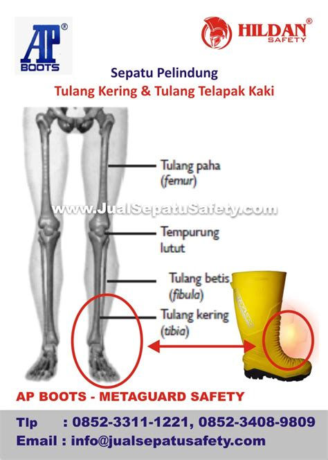 Pelindung Tulang Kering sepatu proyek pelindung tulang kering dan tulang telapak