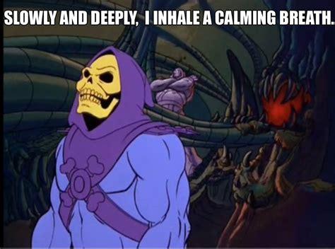 Skeletor Meme - mindfulness critics and defenders