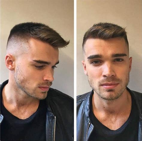 short haircut fine recessed hairline best men s haircuts hairstyles for a receding hairline