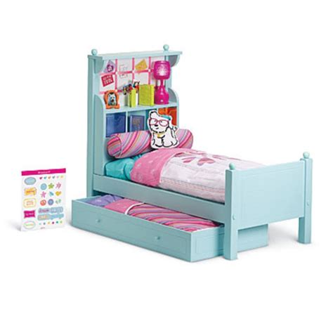 american doll bed american girl my ag duo bouquet bed set bedding for 18