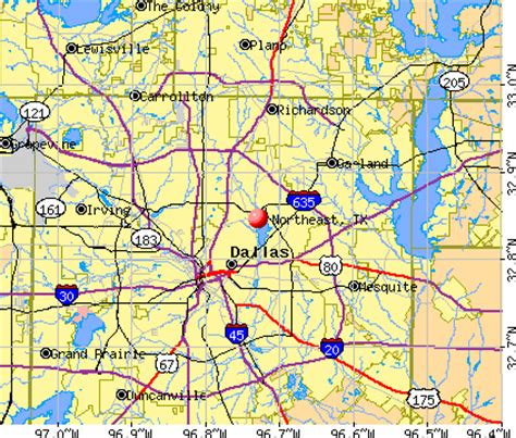 map of ne texas northeast texas map