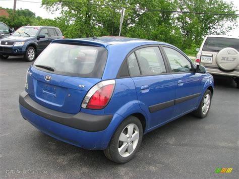 2007 Kia Rio5 2007 Sapphire Blue Kia Rio5 Sx Hatchback 10508802