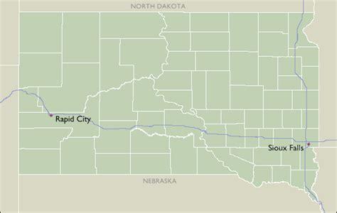 dakota zip code map city zip code maps of south dakota