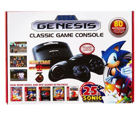 sega genesis classic console with 80 built in sega genesis classic console w 80 built in