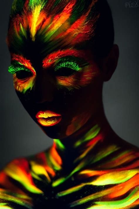 glow in the paint black glow in the paint xoxo bodypaint
