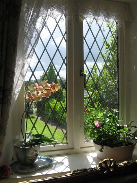 country style windows english country home these leaded glass windows have