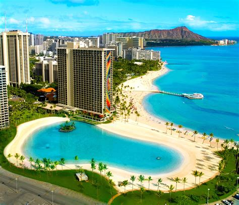 Hilton Hawaiian Village Waikiki Beach Photo Gallery