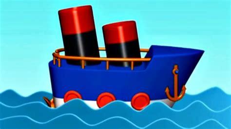 dessin animé bateau mon petit bateau jeu d assemblage dessin anim 233 youtube