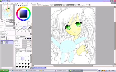 paint tool sai 2 windows painttoolsai 1 1 0 version software