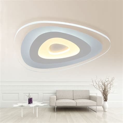 Lu Led Ceiling remote living room bedroom modern led ceiling lights luminarias dimming led ceiling l
