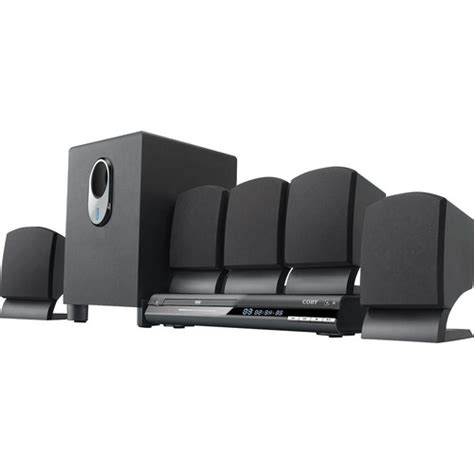coby dvd765 5 1 channel dvd home theater system dvd765 b h