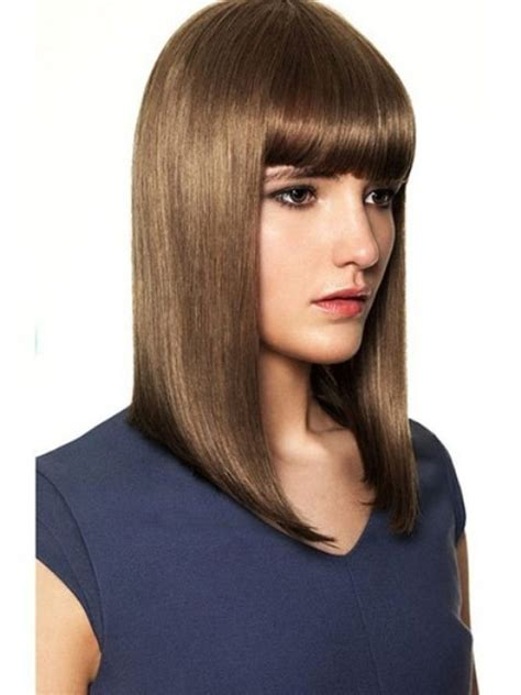 hairstyles for unwanted bangs medium length hairstyles with pictures and tips on how