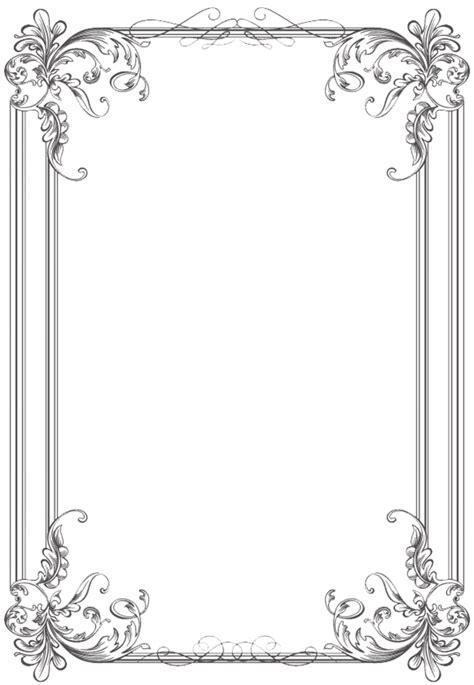 Wedding Album Borders by Free Black Clip Borders And Frames Weddings Custom