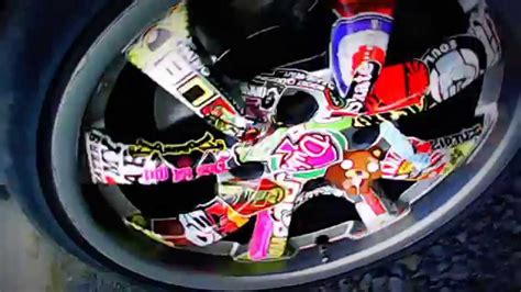 Sticker Tuning 206 by Peugeot 206 Cc Sticker Bombing On Rims