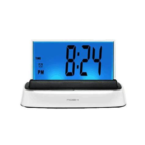 moshi voice alarm clock alarm clocks and watches