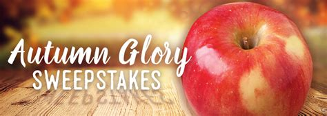 Apple Sweepstakes - domex superfresh growers launches autumn glory apple sweepstakes and now u know