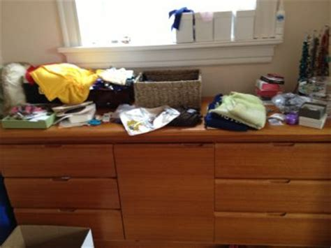 How To Organize Dresser Top by Dresser Transformation Peace Of Mind Organizing