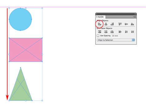 qt layout align left quick tip how to use the align panel in adobe indesign