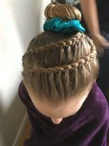 hairstyles for gymnastics meets 1000 ideas about gymnastics hairstyles on