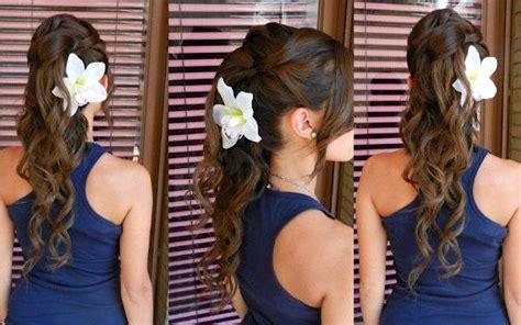 acconciatura con fiore le acconciature pi 249 scelte dalle spose