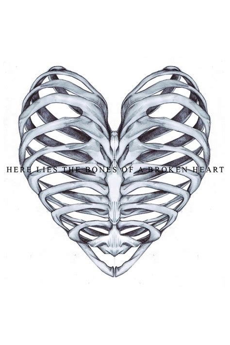 heartbeat tattoo rib cage 53 best bones ribcage others images on pinterest