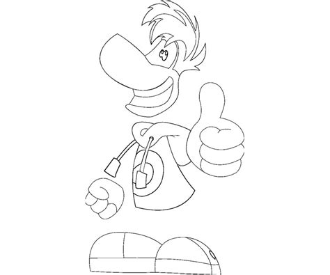 rayman coloring pages free coloring pages of rabbid
