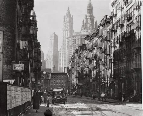 Image Gallery New York Vintage Image Gallery Manhattan Streets 1930