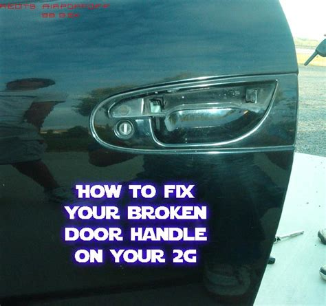 How To Fix A Broken Door Latch by 2g How To Fix Your Broken Door Handle On A 2g Dsmtuners